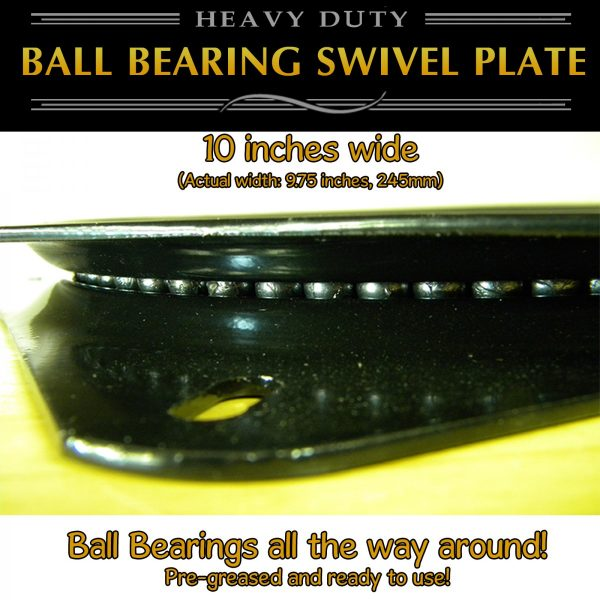 10 swivel plate turntable heavy duty