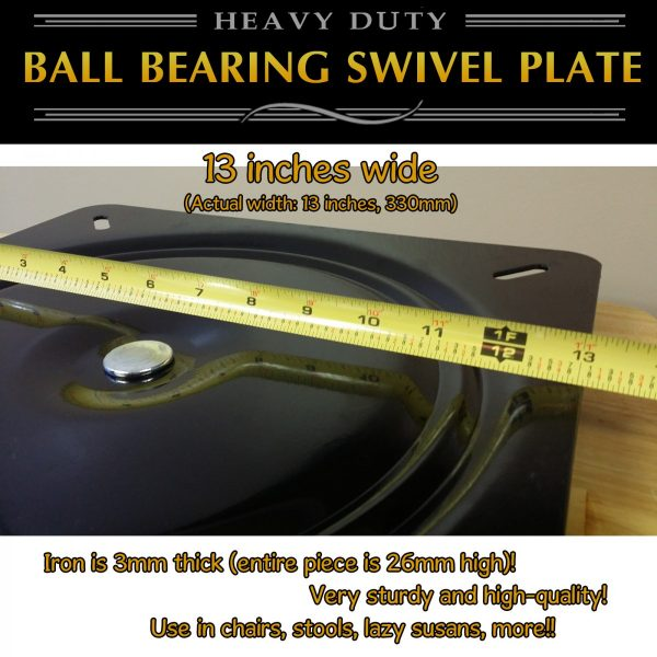 big swivel plate turntable 13 inch