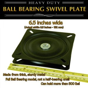 swivel plate turntable full ball bearing