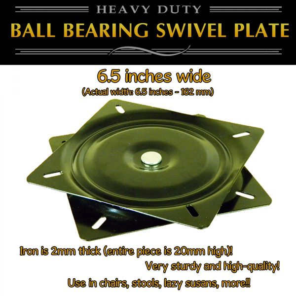 swivel plate turntable heavy duty 6""