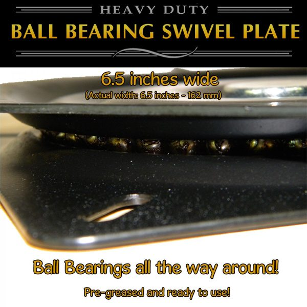 "6"" swivel plate turntable"