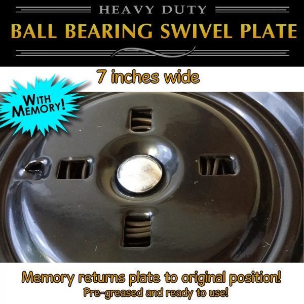 "7"" swivel plate with memory return"