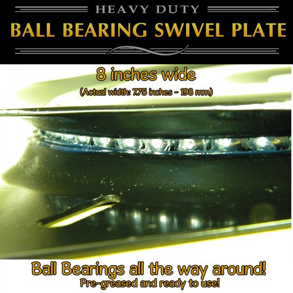 "8"" swivel plate turntable quality"