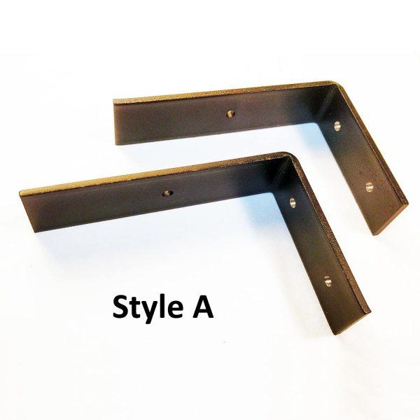 Steel Metal Shelf Brackets Farmhouse Style