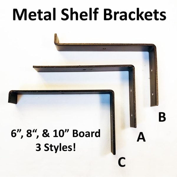 Steel Metal Shelf Brackets Farmhouse