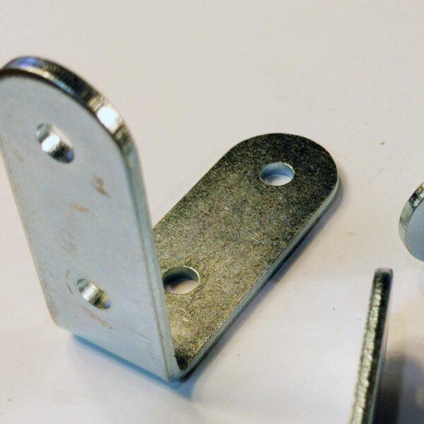 2x2 inch metal bracket